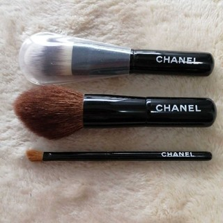 CHANEL - [CHANEL] ミニブラシ3本セット