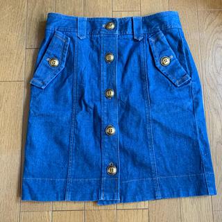 BURBERRY BLUE LABEL - バーバリーブルーレーベル デニムスカート used 38