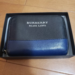 BURBERRY BLACK LABEL - BURBERRY コインケース キーケース