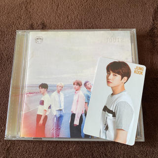 YOUTH BTS CD トレカ ジョングク