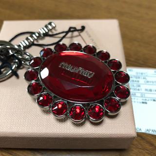 miumiu - ミュウミュウキーホルダー(赤)