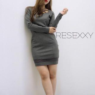 リゼクシー(RESEXXY)のRESEXXY♡クロスワンピ エイミー Rady デイライル リエンダ SLY(ミニワンピース)