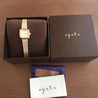 アガット(agete)のアガットagate  腕時計(腕時計)