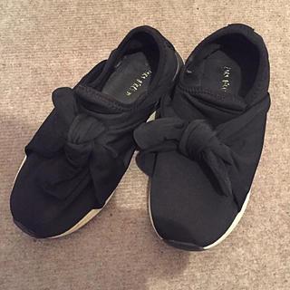 ZARA - ZARAKIDS子供靴黒22.5cm