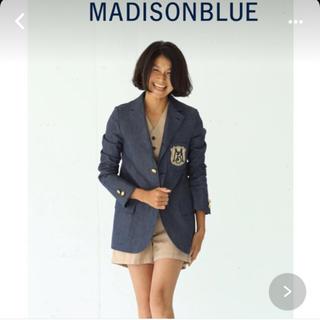 MADISONBLUE - 【MADISON BLUEマディソンブルー】シングルブレザーデニムジャケット