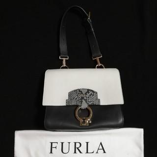 Furla - 美品 フルラ ハンドバッグ スクープ リバーシブル