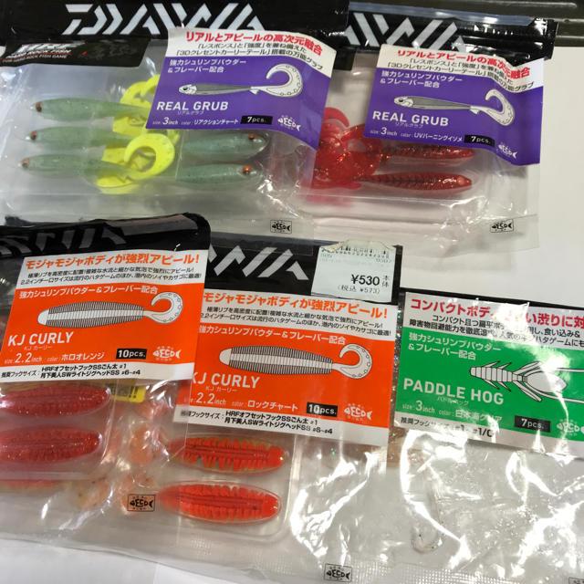DAIWA(ダイワ)のDAIWA  ワーム ロックフィッシュ 中古 スポーツ/アウトドアのフィッシング(ルアー用品)の商品写真