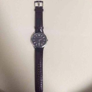 エンポリオアルマーニ(Emporio Armani)のエンポリオアルマーニ 腕時計(レザーベルト)