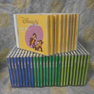DWEディズニー英語メインプログラム内CD35枚 歌131曲入