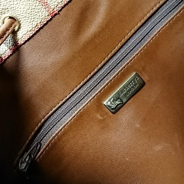BURBERRY(バーバリー)のBURBERRY ショルダーバッグ ヴィンテージ レディースのバッグ(ショルダーバッグ)の商品写真