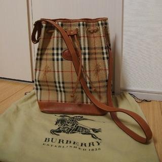 BURBERRY - BURBERRY ショルダーバッグ ヴィンテージ