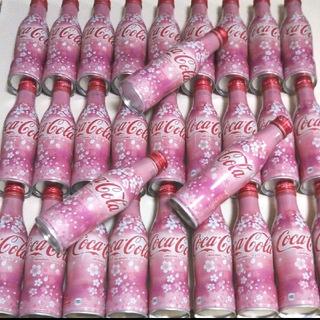 コカコーラ(コカ・コーラ)の桜🌸コカ・コーラ空き缶(ノベルティグッズ)
