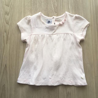 PETIT BATEAU - プチバトーTシャツ トップス 70