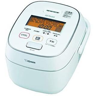 象印 - NW-JU10-WA 炊飯器 極め炊き 5.5合炊き 圧力IH ホワイト