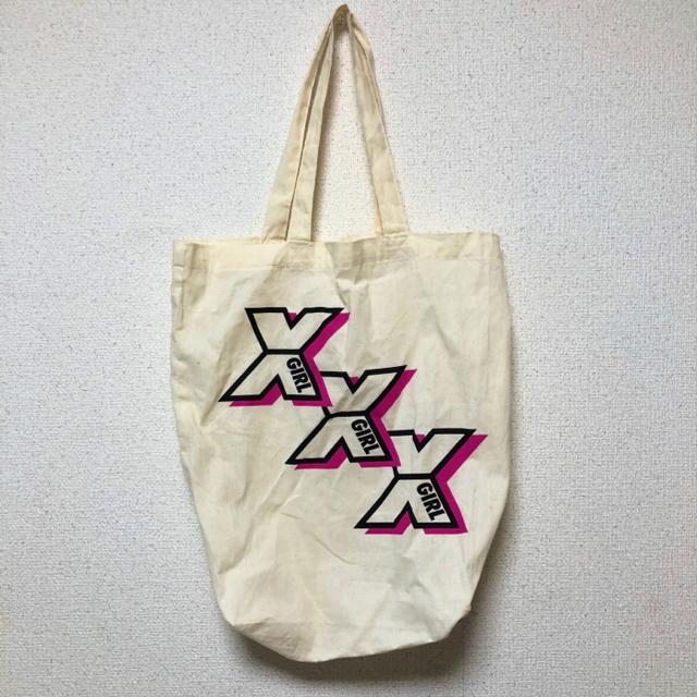 X-girl(エックスガール)のエックスガール パーカー ワンピース レディースのトップス(トレーナー/スウェット)の商品写真