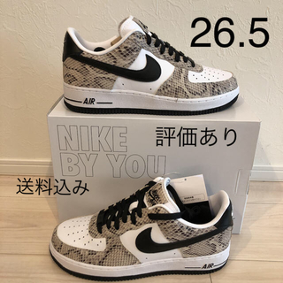 NIKE - ナイキ エアフォース1 ロー アンロックド 白蛇