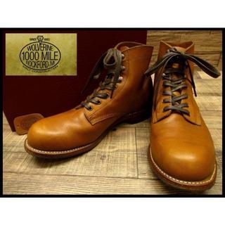 WOLVERINE - 着用2回の美品 ウルヴァリン W05848 1000マイル ブーツ 27.5cm