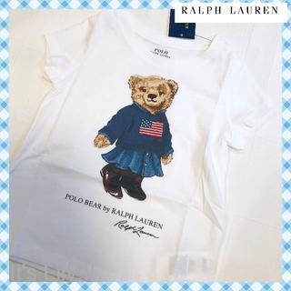 Ralph Lauren - 2t 90-95cm ラルフローレン ベアプリント tシャツ