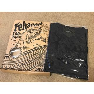 レアセル(rehacer)のレアセル rehacer 2パック Tシャツ ネイビー☆新品☆(Tシャツ/カットソー(七分/長袖))