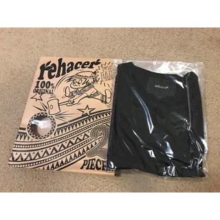 レアセル(rehacer)のレアセル rehacer 2パック Tシャツ ブラック 7分袖☆新品☆(Tシャツ/カットソー(七分/長袖))