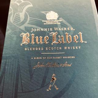 ウイスキー ブルーラベル