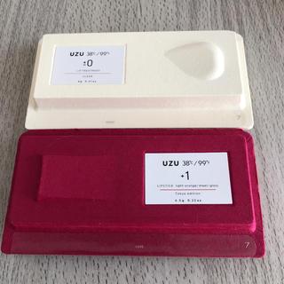 フローフシ(FLOWFUSHI)の新品 UZU フローフシ 38℃/99°F リップ 口紅 リップトリートメント(口紅)