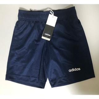 adidas - 新品 ★ 130 アディダス ユース ショートパンツ リニア ロゴ ネイビー