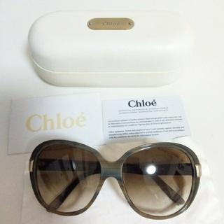 Chloe - Chloe カーキ サングラス