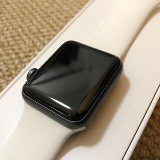 アップルウォッチ(Apple Watch)のApple  Watch series3 ナイキモデル 38mm(その他)