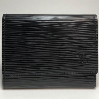 LOUIS VUITTON - ルイヴィトン  エピ カードケース 名刺入れ レザー ノワール M56582
