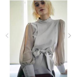 アメリヴィンテージ(Ameri VINTAGE)のAmeri vintage apron lady blouse (シャツ/ブラウス(長袖/七分))