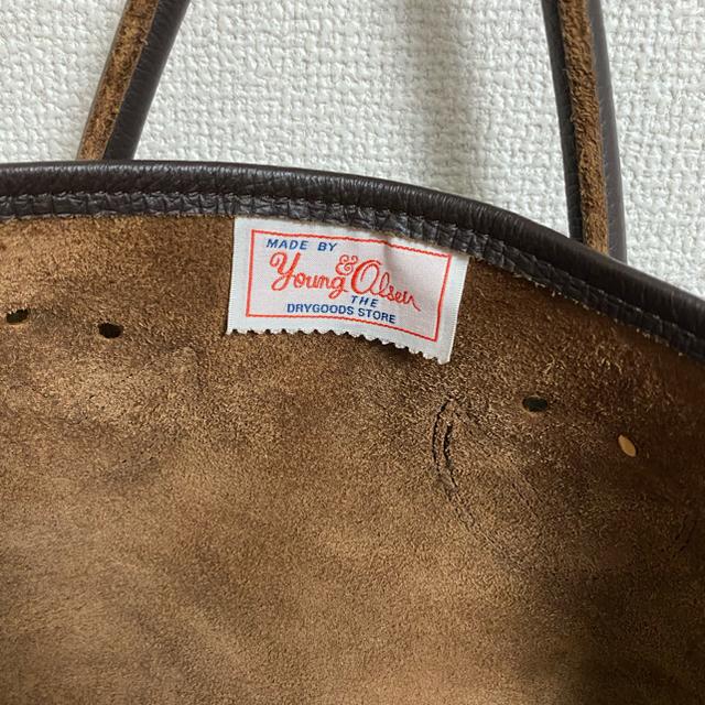 IENA(イエナ)のYOUNG&OLSEN レザートートバッグ レディースのバッグ(トートバッグ)の商品写真
