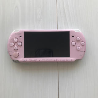 PlayStation - PSP 3000 本体 ピンク ゲーム機