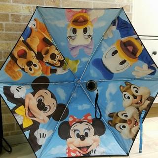 Disney - ディズニーリゾート完売品★ミッキー&フレンズ 実写・晴雨兼用傘・日傘・折り畳み傘