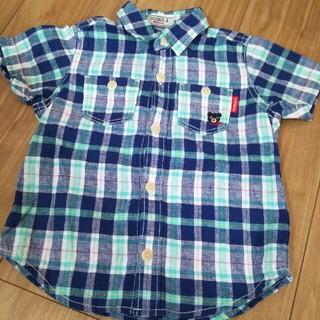 DOUBLE.B - ダブルB チェックシャツ 90