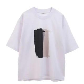 STUDIOUS - Tシャツ CLANE ペイント カットソー