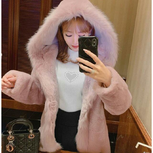 Rady(レディー)のRady☆ファーコート レディースのジャケット/アウター(毛皮/ファーコート)の商品写真