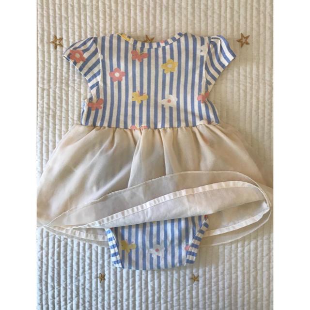 futafuta(フタフタ)のfutafuta ワンピース 80㎝ キッズ/ベビー/マタニティのベビー服(~85cm)(ワンピース)の商品写真