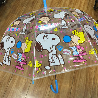 SNOOPY - スヌーピー   子供用ビニールジャンプ傘 新品