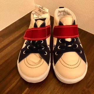 DOUBLE.B - 新品未使用 ダブルビー  スニーカー 靴 19センチ