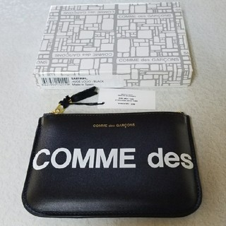 COMME des GARCONS - ★新品★ コムデギャルソン ポーチ 黒