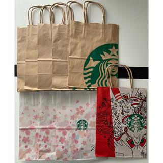 スターバックスコーヒー(Starbucks Coffee)のSTARBUCKS COFFEE☆ショップ袋(ショップ袋)