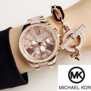 Michael Kors - ★ラスト1点★新品 マイケルコース 腕時計 MK6096 ピンクローズ 送料無料