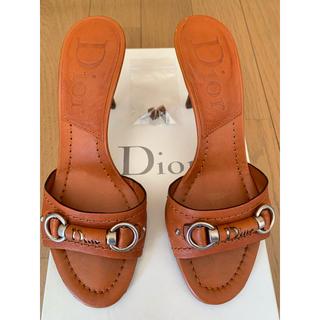 クリスチャンディオール(Christian Dior)のクリスチャン ディオール  ミュール  サンダル(ミュール)