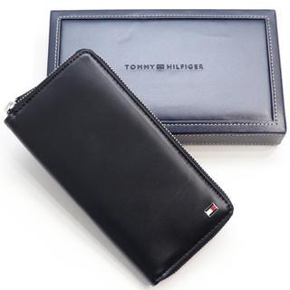 TOMMY HILFIGER - 新品 トミー ヒルフィガー オックスフォード ラウンド 二つ折り 長財布 折財布