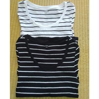 UNIQLO - ユニクロ 半袖シャツSサイズ 2枚