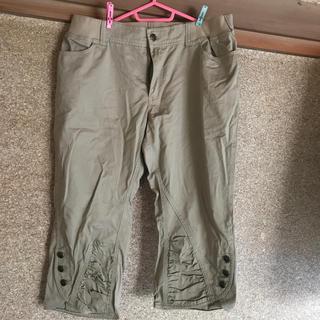 ニッセン - W96cm 7分丈パンツ