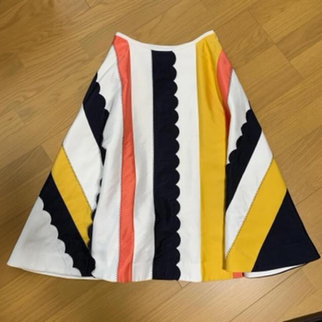 Chesty(チェスティ)のぴよん様専用⭐︎Chesty⚘配色フレアスカート レディースのスカート(ロングスカート)の商品写真
