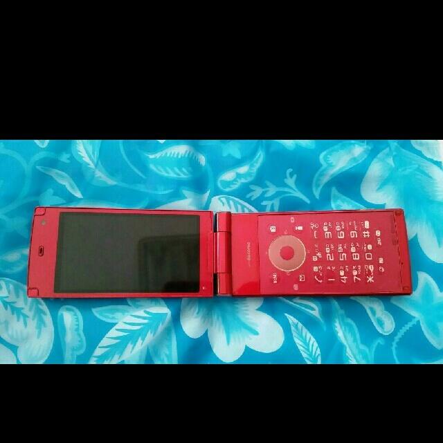 SHARP(シャープ)のdocomo ドコモ FOMA SH-10C ピンク スマホ/家電/カメラのスマートフォン/携帯電話(携帯電話本体)の商品写真