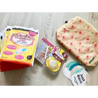 コンビ(combi)の☆出産準備まとめ売り 母乳パッドおしゃぶりオムツポーチ爪やすり月齢カード☆(その他)